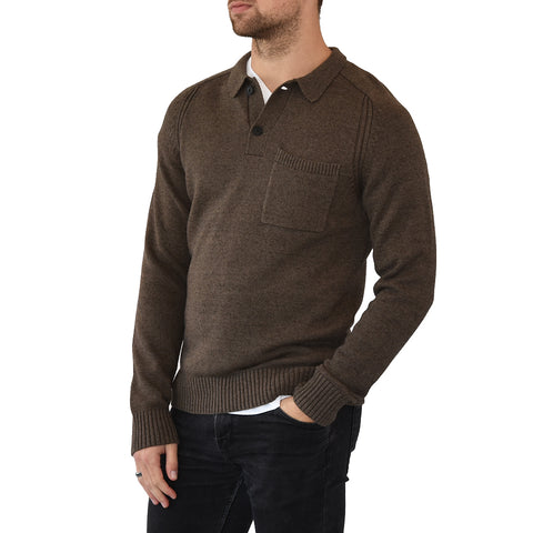 Travis Mathew Milligen Knit - Quite Shade