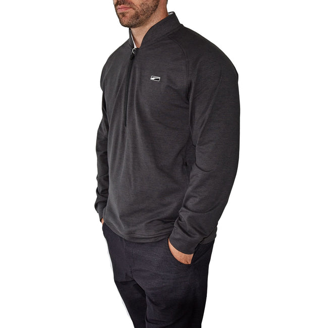 Puma Cloudspun Moving Day 1/4 Zip - Black