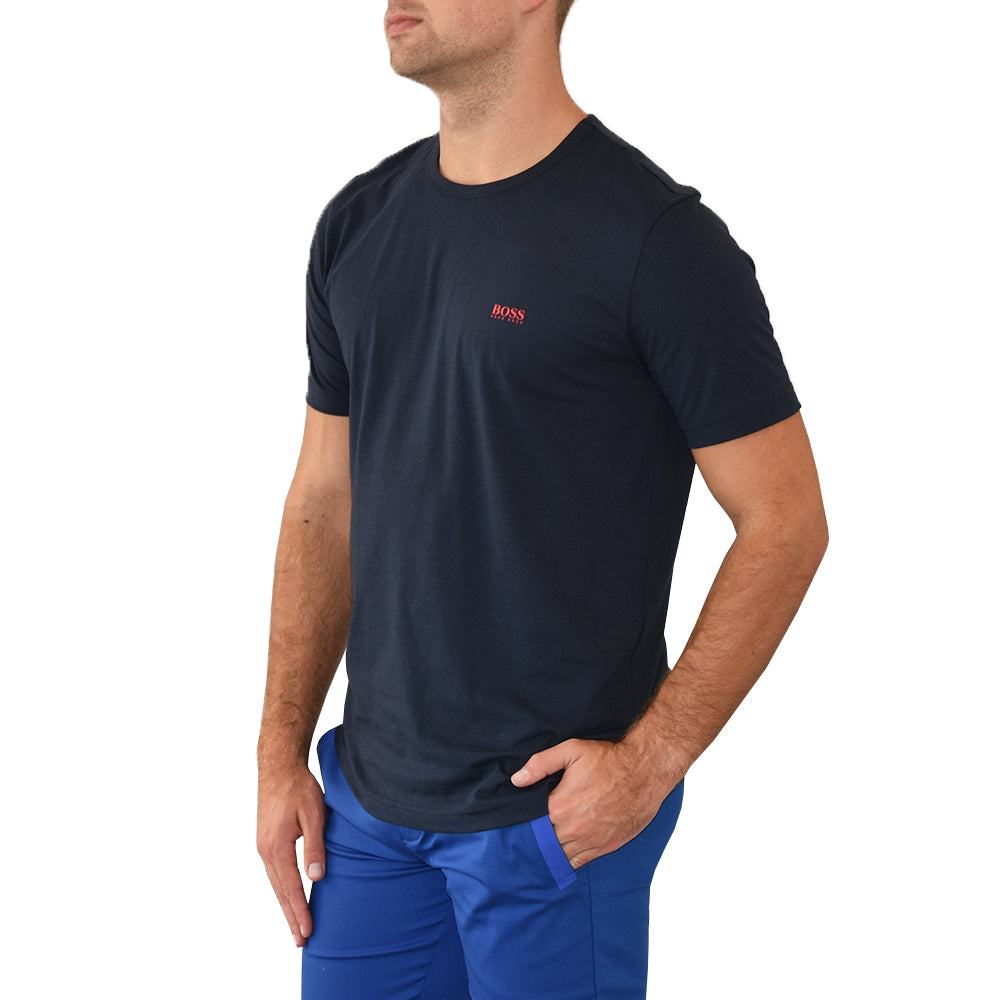 Hugo Boss Tee - Navy/Red