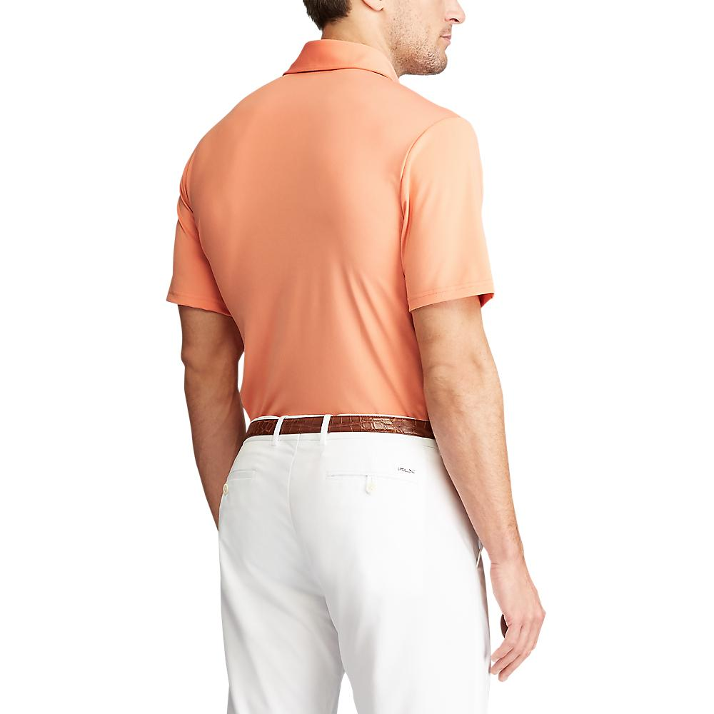 RLX Ralph Lauren Solid Airflow Performance Polo - Peach Tree