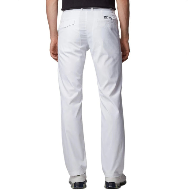 Hugo Boss Hakan 9-2 Golf Pants - White