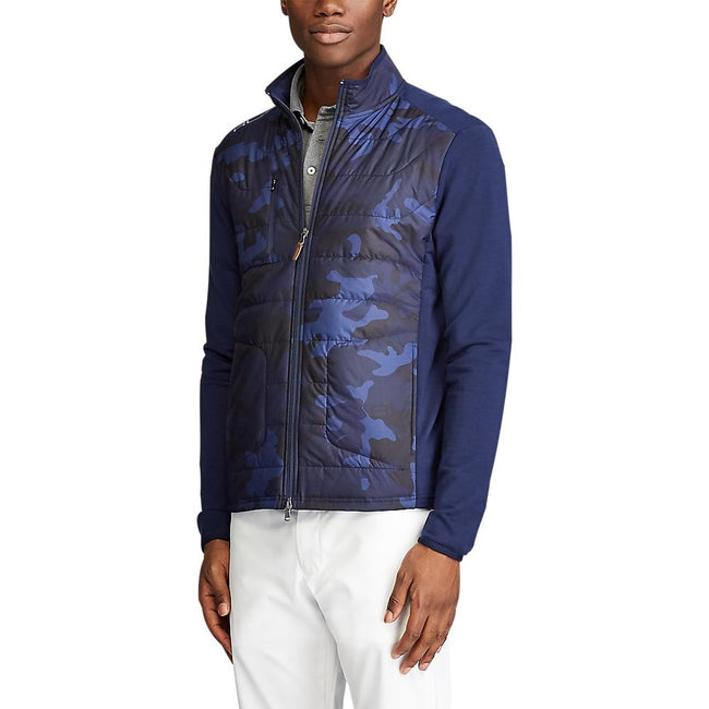 RLX Ralph Lauren Cool Wool Jacket - French Navy Camo