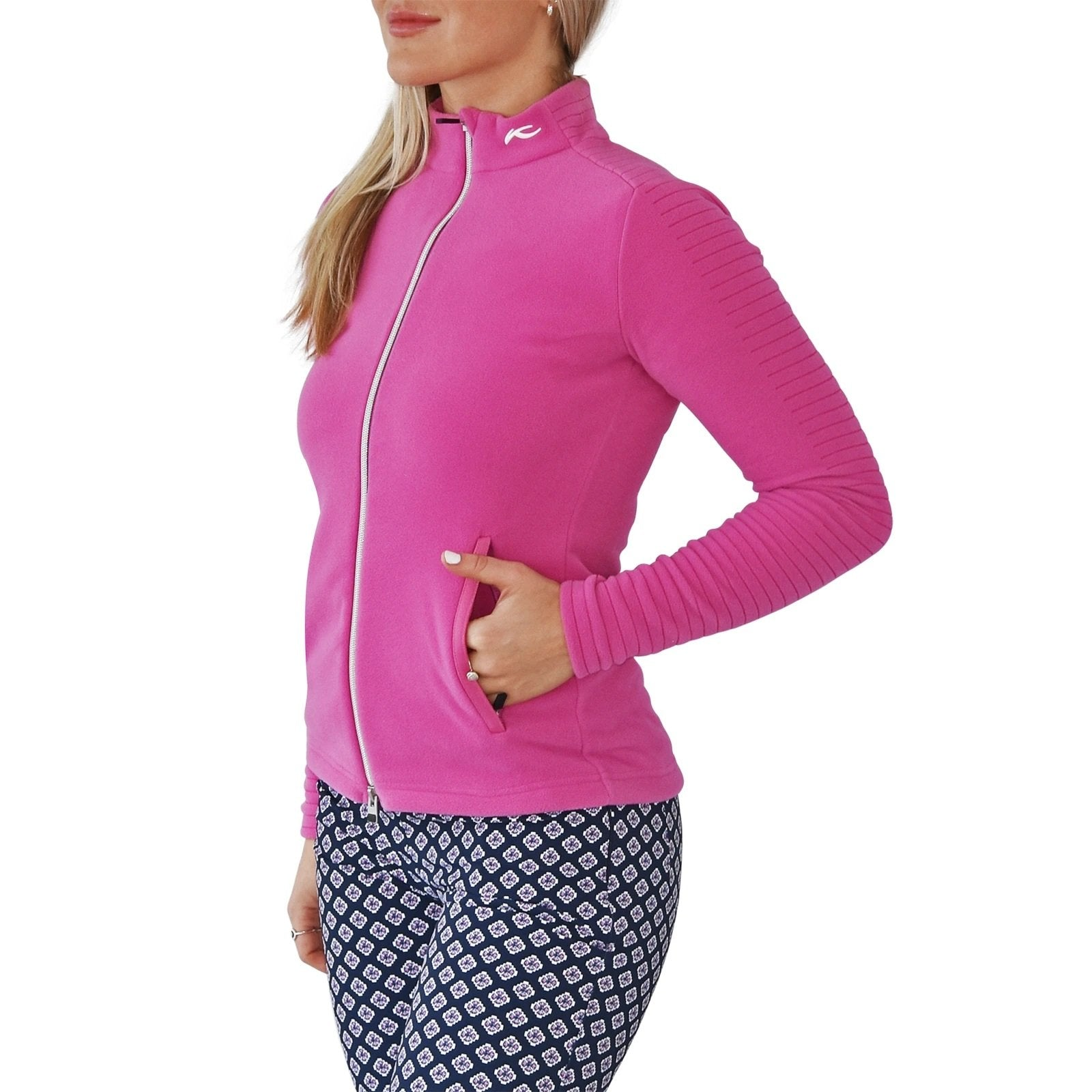 KJUS Women's Maxima Mid-Layer Jacket - Pink Divine
