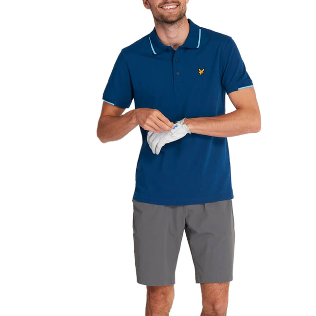 Lyle & Scott Andrew Polo Shirt - Deep Fjord