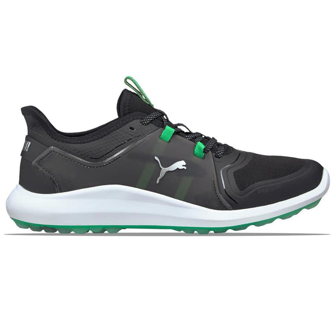 Puma IGNITE FASTEN8 X Golf Shoes - Black/Irish Green