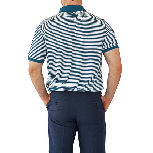 Puma Signature Stripe Golf Polo Shirt - Legion Blue