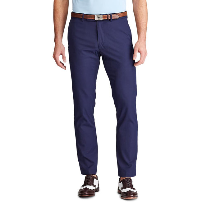 RLX Athletic Lightweight Stretch Slim Cypress Golf Pants - French Navy