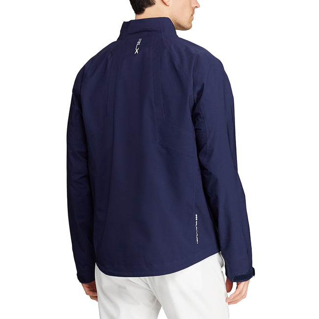 RLX Ralph Lauren Waterproof Twill Golf Jacket - Navy
