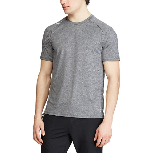 RLX Active Crew T-Shirt - Boulder Grey Heather