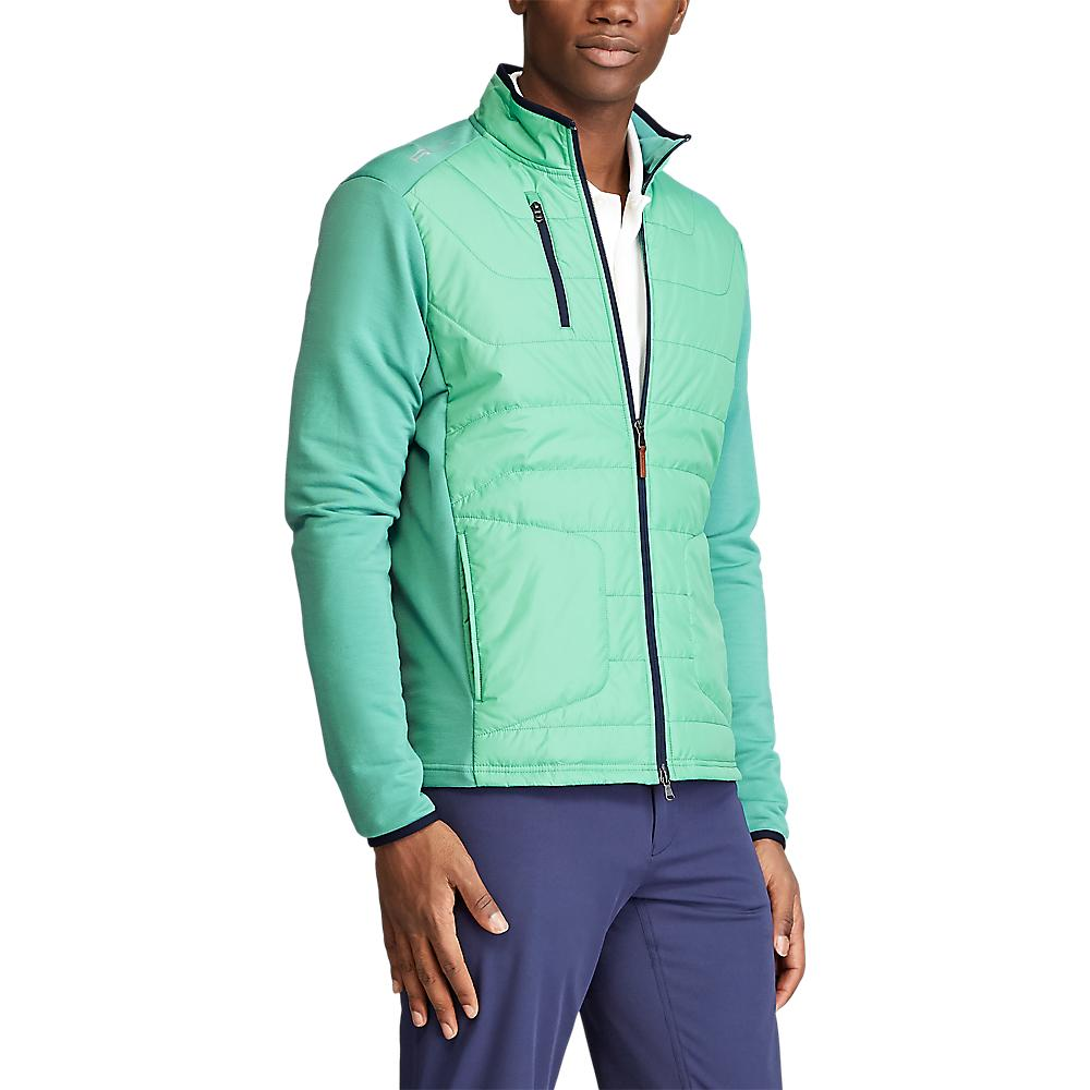 RLX Ralph Lauren Cool Wool Jacket - Haven Green