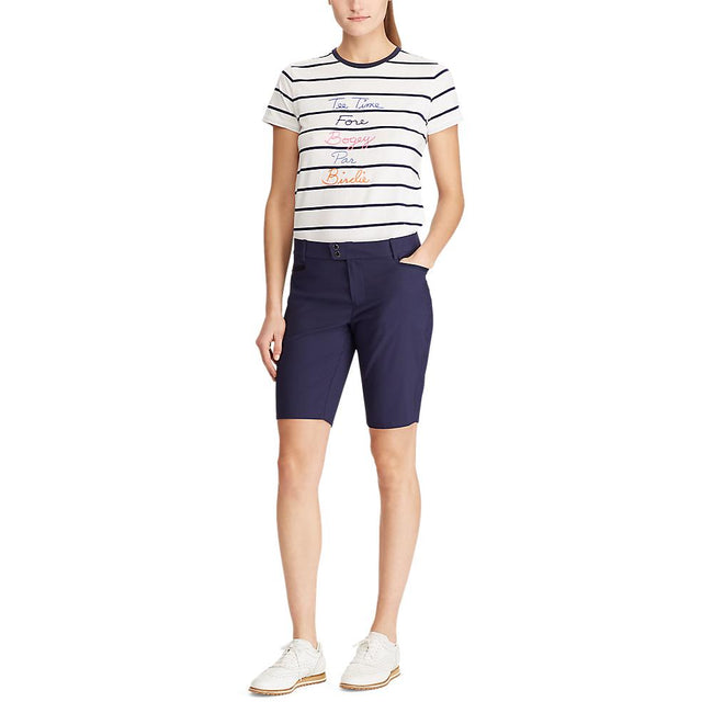 RLX Ralph Lauren Women's Par Golf Shorts - French Navy