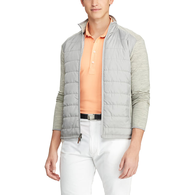 RLX Ralph Lauren Cool Wool Jacket - Lt Grey Heather