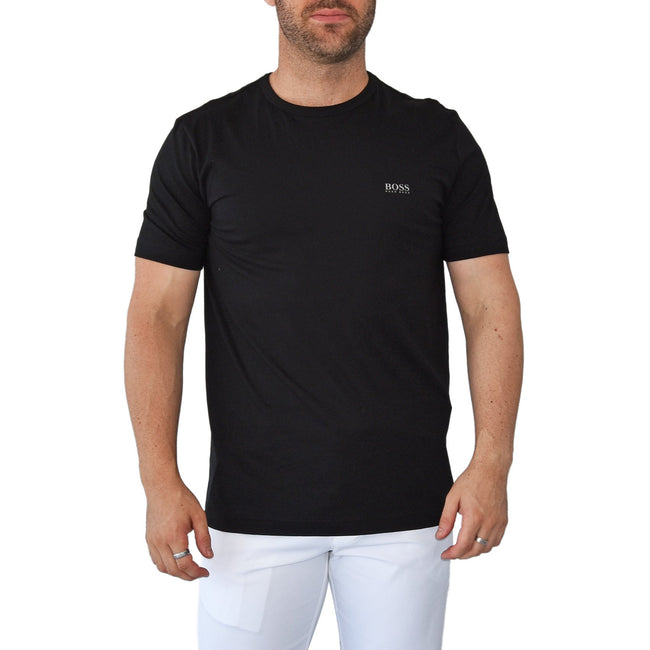 Hugo Boss Tee Reg Fit T-Shirt - Black