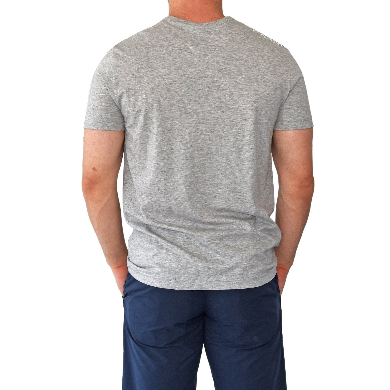 Hugo Boss Tee Reg Fit T-Shirt - Light/Pastel Grey