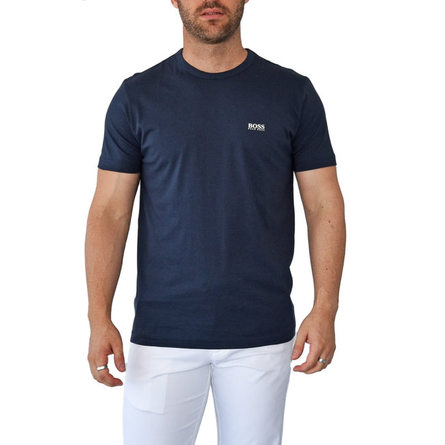 Hugo Boss Tee Reg Fit T-Shirt - Navy
