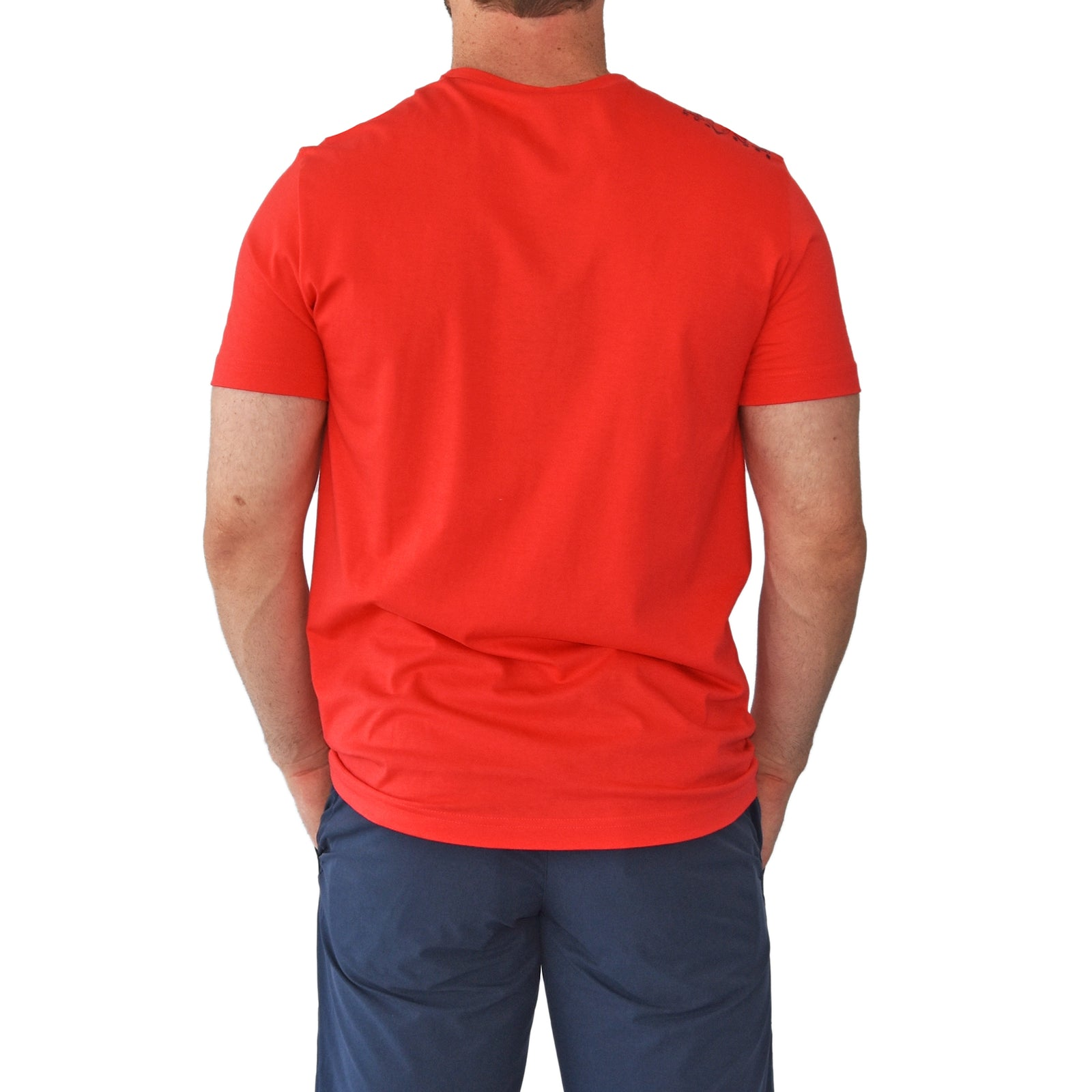 Hugo Boss Tee Reg Fit T-Shirt - Bright Red