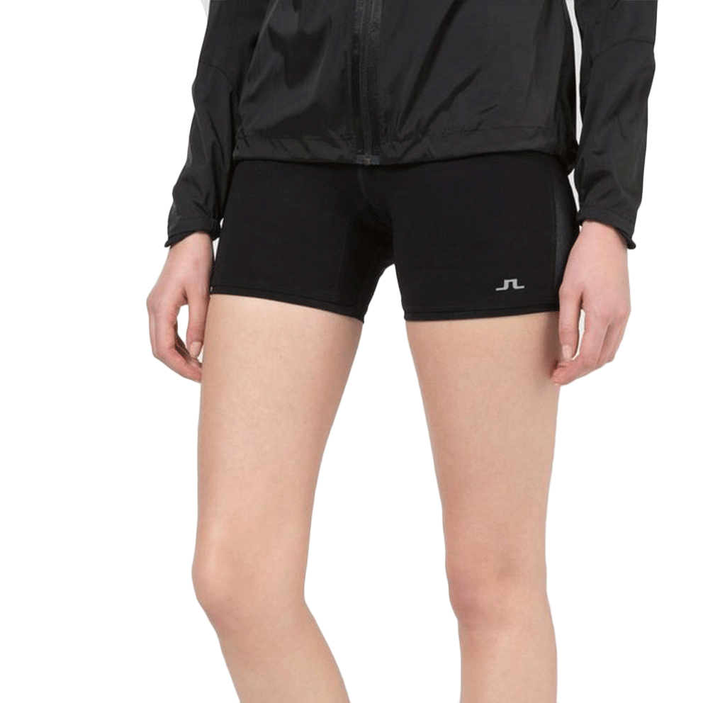 J.Lindeberg Womens Gaby Compression Shorts - Black
