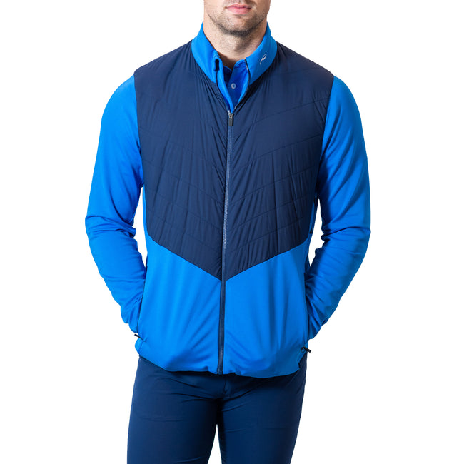 KJUS Release Jacket - Strong Blue/Atlanta Blue