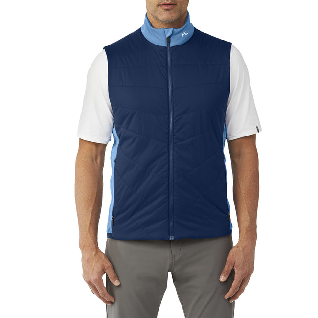 KJUS Release Vest - Quite Harbor/Atlanta Blue