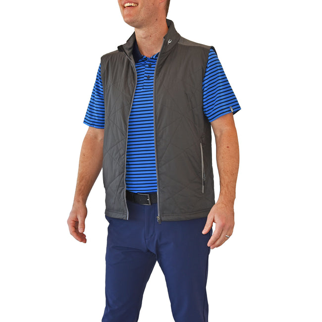 KJUS Retention Vest - Dark Dusk/Steel Grey Melange