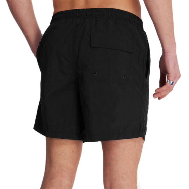 Lyle & Scott Plan Swim Shorts - Jet Black