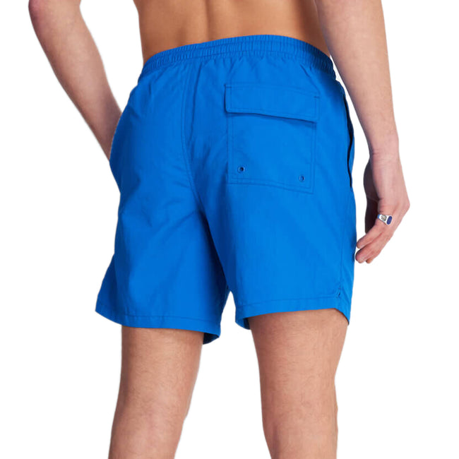 Lyle & Scott Plan Swim Shorts - Bright Cobalt