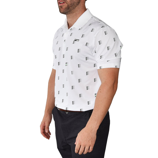 Puma MATTR Moving Day Golf Polo - Bright White