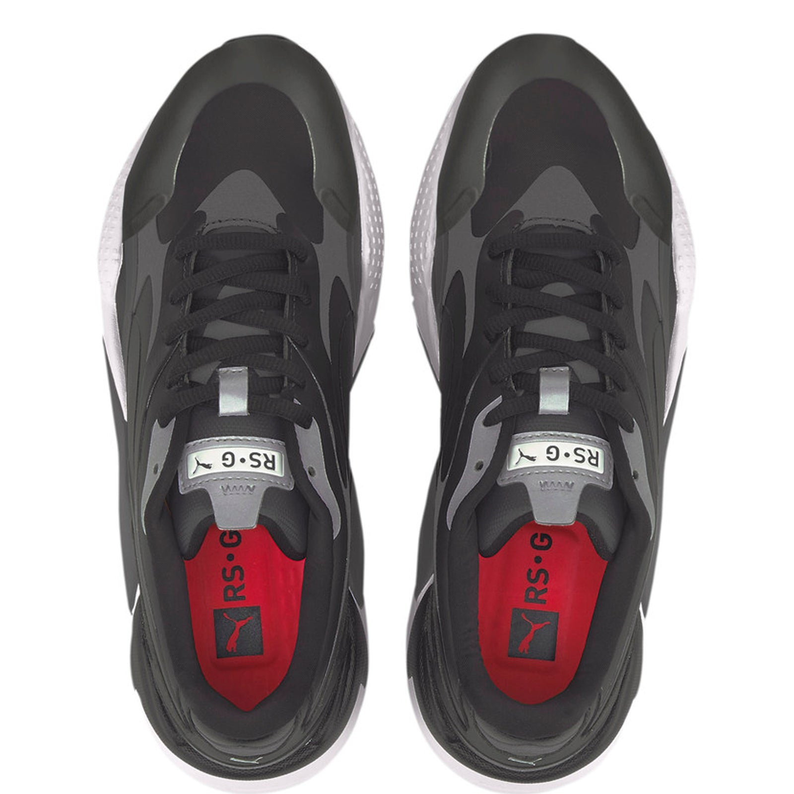 Puma RS-G Golf Shoes - Black/Dark Shadow