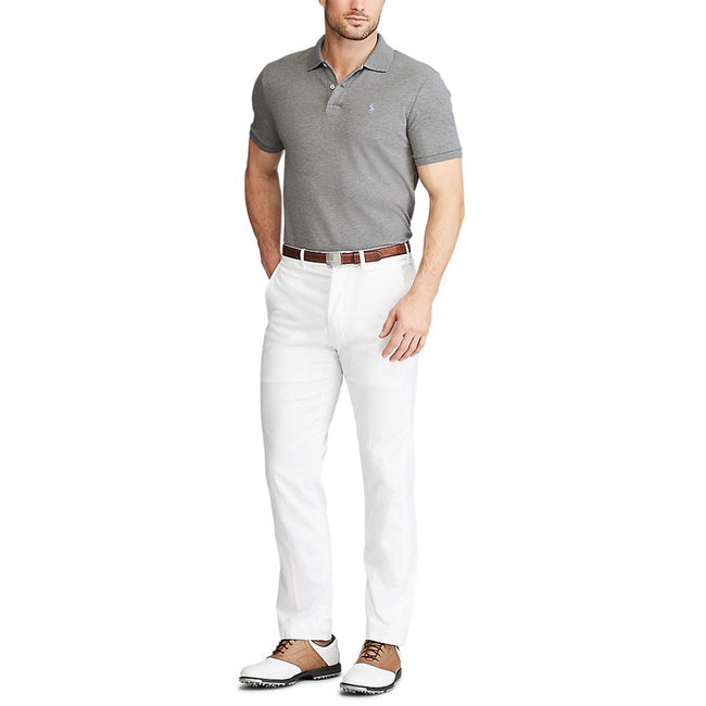 Polo Golf Ralph Lauren Custom Slim Performance Polo - Boulder Grey Heather