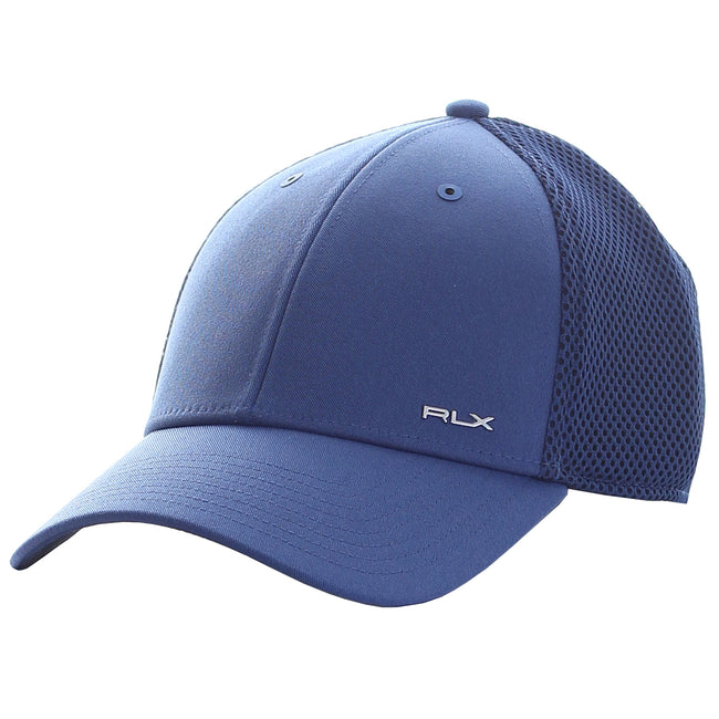 RLX Ralph Lauren Flex Fit Hat - Royal  Blue