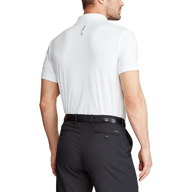 RLX Ralph Lauren Solid Airflow Performance Polo - Pure White