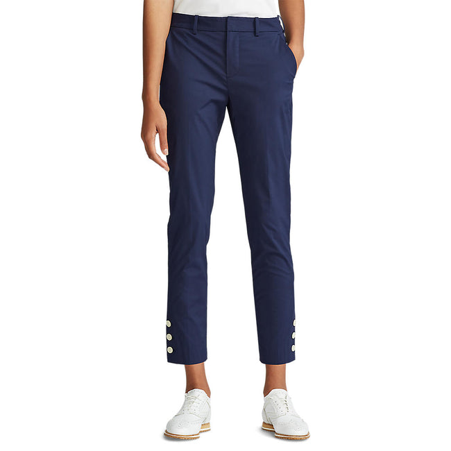 Polo Golf Ralph Lauren Women's Coolmax Buttoned-Cuff Golf Pant - Navy