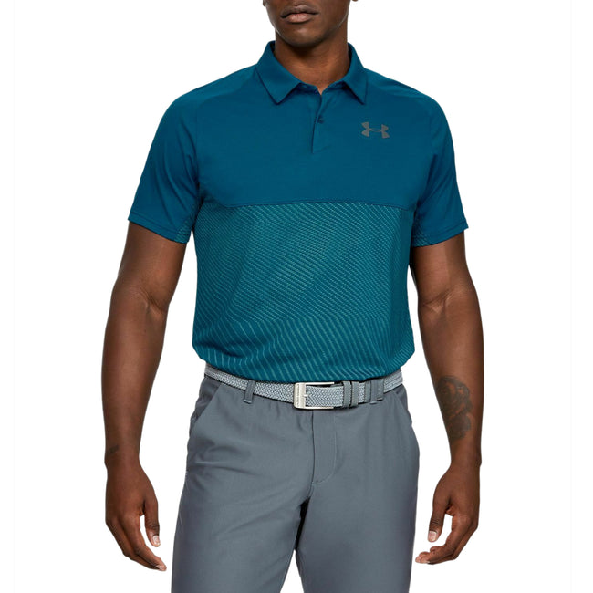 Under Armour Vanish Blocked Polo Shirt - Teal