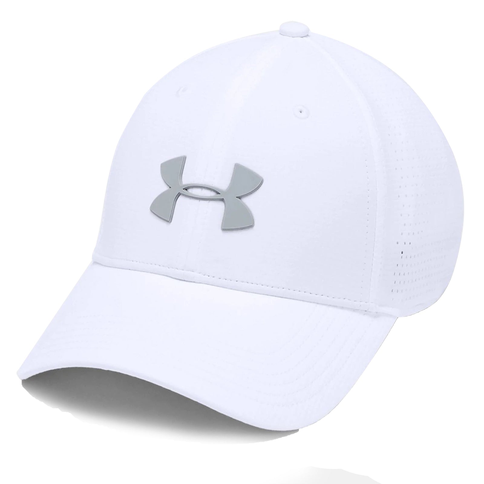 Under Armour Driver 3.0 Cap - White