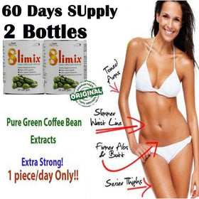 (2 bottles) Green coffee bean extract diet weight loss product women slimming Coffee bean extracts burn fat pills (ml030) - Tradinghealth