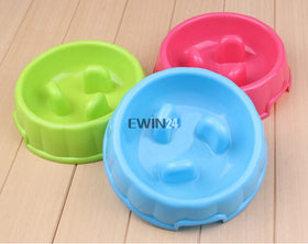 1 x  Go Slow Anti-Gulping Dog Bowl Preventing Indigestion Vomiting Bloating