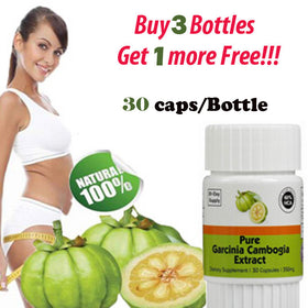 (30 DAYS SUPPLY) Pure garcinia cambogia slimming products loss weight diet product for women