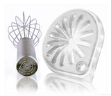 Whisk Wiper® - Wipe a Whisk Without The Mess - Includes Stainless-Steel Whisk