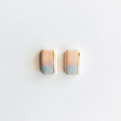 Wink and Stripe Earrings