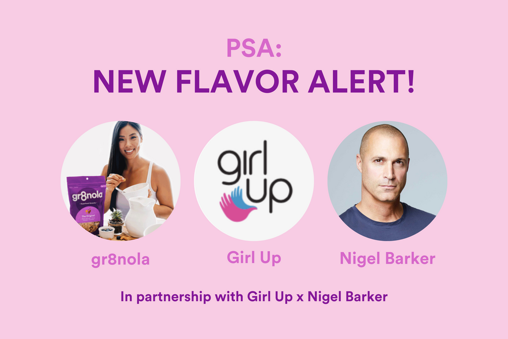 New Flavor Alert in Partnership With Girl Up x Nigel Barker