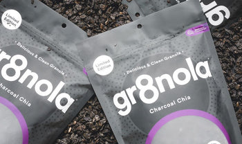 Charcoal Chia: The brand development of my detoxifying black granola.