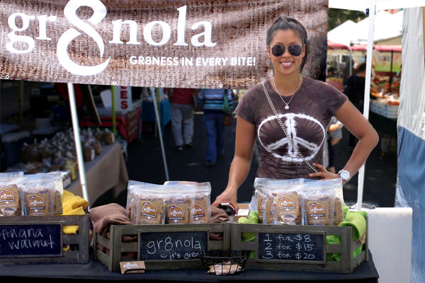 My hunger for #gr8ness (and how I started a clean granola business)