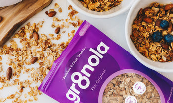 Redesigning my Granola Packaging & Brand