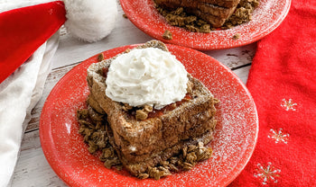 Vegan Christmas Morning French Toast Recipe