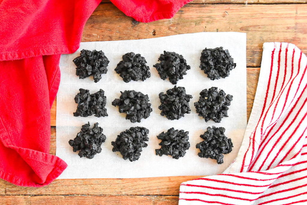 4-Ingredient Lumps Of Coal (Vegan, Dairy-Free)