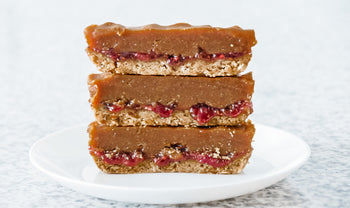 No-Bake PB & J Bars Recipe