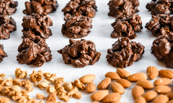 How To Make Dark Chocolate Covered Granola Almond Clusters