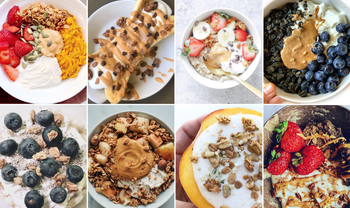 8 Gr8 Yogurt and Granola Recipe Combos