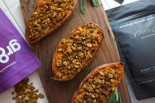 Savory Sweet Potato Crunch