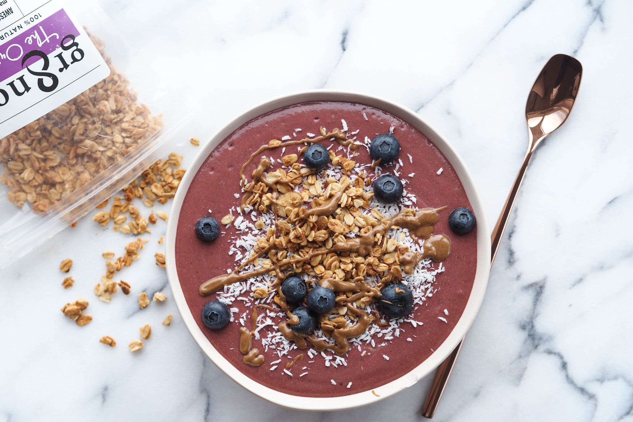 Coconut-Berry Smoothie Bowl